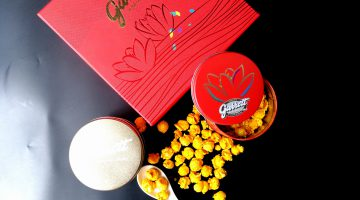 Celebrating Mid Autumn Festival with Garrett Popcorn