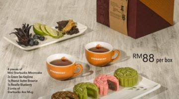 Starbucks Exclusive Mooncake Gift Set Promotion