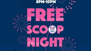 Free Scoop Night @ Baskin Robbins