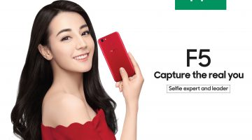 OPPO announces Dilireba as OPPO F5 new ambassador while Yoga Lin and Eric Chou are confirmed as selfie icons for F5