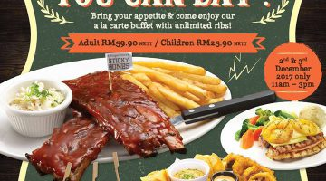 All  You Can Eat Ribs @ Morganfield's