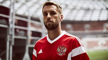 adidas Football Reveals New Russian National Team Home Kit For 2018 FIFA World Cup RussiaTM