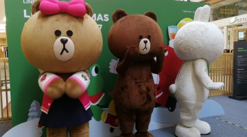 Celebrate Christmas with Line in Tokyo Street, Pavilion