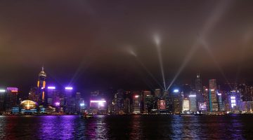 Spectacular New Version of A Symphony of Lights and Winter Version of Hong Kong Pulse Light Show Unveiled Tonight