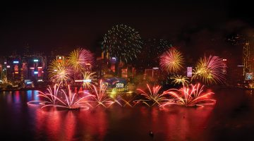 One of the Most Celebrated New Year Countdown Celebrations in Asia