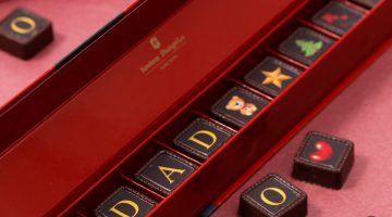 Kowloon Shangri-La – Christmas Charity Sales: Personalised Chocolates