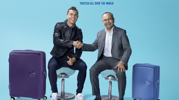 American Tourister Announces Football Superstar Cristiano Ronaldo as its 2018 Brand Ambassador