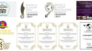The Westin Resort Nusa Dua, Bali Continues Its Commitment To Being The Best