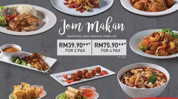 Jom Makan Promotion @ Secret Recipe