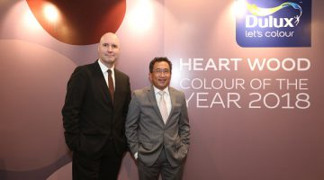 AkzoNobel's Dulux brand announces Heart Wood as 2018 Colour of the Year
