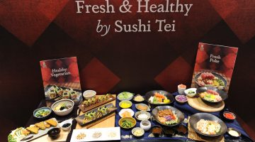Catch a taste of Sushi Tei's new fresh and healthy menu