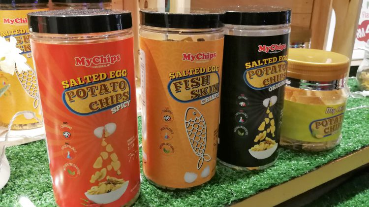 MyChips @ The Gardens Mall : Addictive Salted Egg Potato Chips