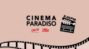 LOT 10 ROOFTOP CINEMA PARADISO