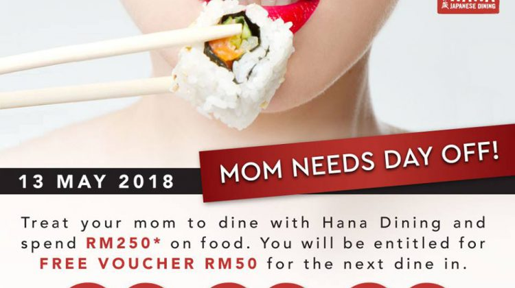 Mother's Day Promotion @ Hana Dining Sake Bar