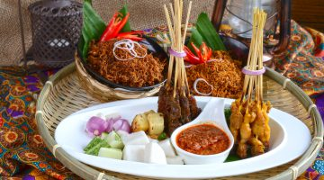 Festive feast of Malay traditional cuisine and signature specials  at Kitchen Art Brasserie