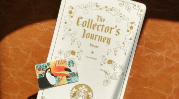 2018 Starbucks Card Album