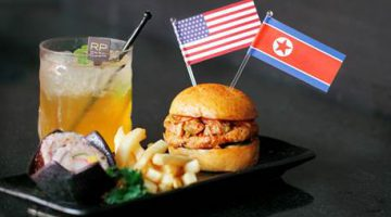 Royal Plaza on Scotts presents the Trump-Kim Burger