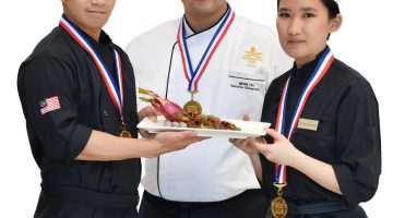 Malaysia's Trio Announced as a Winner In 2018 China International Top Chefs Invitational Competition by SIAL China