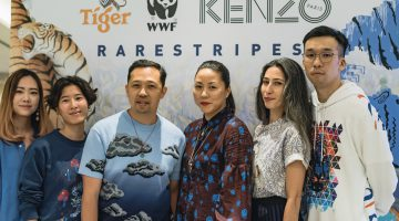 Tiger Beer X WWF X KENZO – World's First 'Rare Stripes' Collection Unveiled in the Name of Wild Tiger Conservatio