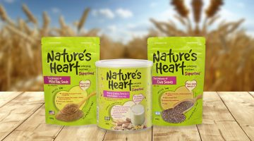 Nature's Heart Makes Healthier Food and Beverages More Convenient, Affordable and Palatable