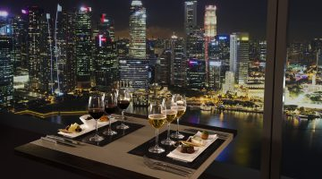 Experience Flights of Fancy at Club55 in Marina Bay Sands