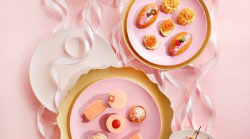 """Pretty in Pink"" afternoon tea launch at Café 103 of The Ritz-Carlton, Hong Kong"