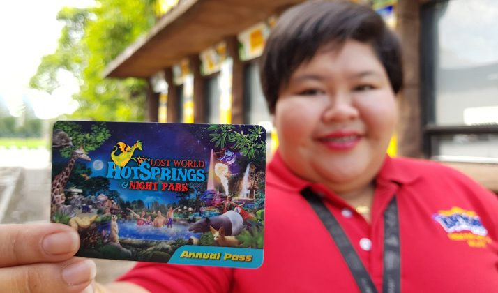 LAST CHANCE TO GRAB LOST WORLD OF TAMBUN ANNUAL PASSES!
