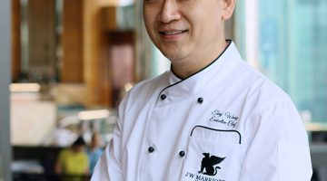 JW Marriott Hotel Hong Kong Appoints Tony Wong as Executive Chef