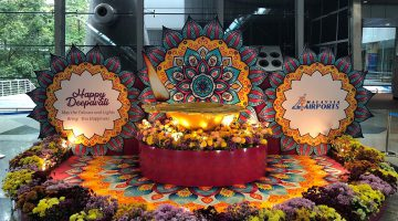 MALAYSIA AIRPORTS CELEBRATES FESTIVAL OF LIGHTS  WITH UNIQUE KOLAM INSTALLATION AT KL INTERNATIONAL AIRPORT