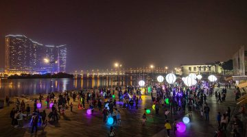 """""""Macao Light Festival 2018 – Time Travel in Macao"""" presents a magical journey across time in December"""