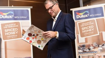 """Dulux embraces the sweet life with """"Spiced Honey""""  as Colour of the Year 2019"""