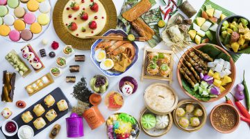 Makan Kitchen at DoubleTree by Hilton Kuala Lumpur is the place to go for Hi-Tea buffet this New Year