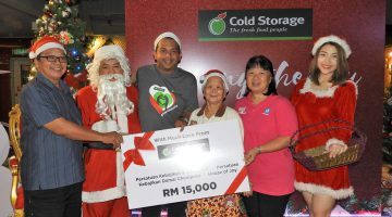 Bringing Festive Cheer to the Less Fortunate This Christmas with Cold Storage