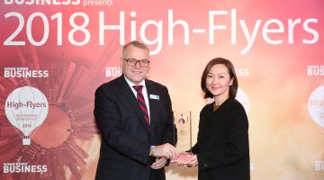 Dorsett Wanchai Once Again Accolated 'Best Family Hotel in Hong Kong' at the Hong Kong Business High Flyers Awards 2018