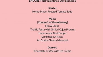 Love Is In The Air @ Encore TTDI