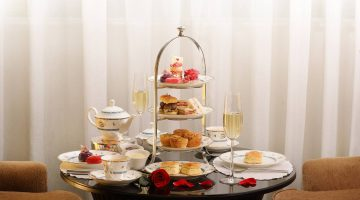 Valentine's Day Afternoon Tea at The Lobby Lounge