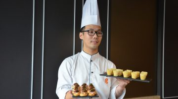 Spot a new face in G Hotel! 3 Cheers for our new Executive Sous Chef on board!