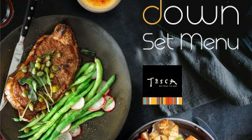Tosca at DoubleTree by Hilton Melaka home of the new food rules and all things upside down dining