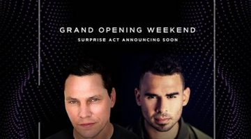 MARQUEE Singapore Announces Grand Opening Line-up with Celebrity DJs Tiësto and Afrojack on 12 & 13 April