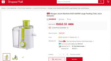 Next-day Delivery for Electronics Purchases on Shopee